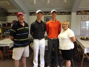 16th Annual Golf Scramble First Place pic